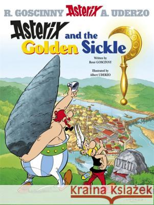 Asterix and the Golden Sickle Rene Goscinny 9780752866123
