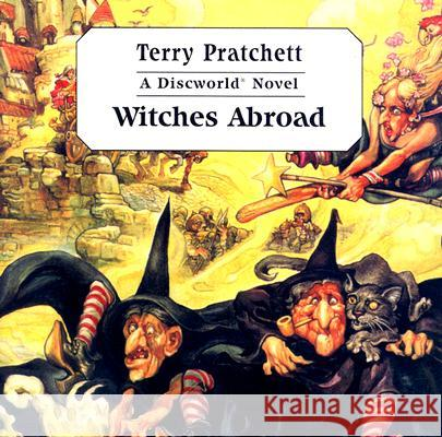 Witches Abroad - audiobook Terry Pratchett Nigel Planer 9780753123454