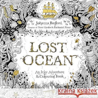 Lost Ocean Johanna Basford 9780753557150