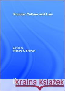 Popular Culture and Law  9780754624707