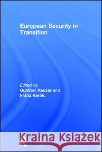 European Security in Transition  9780754649618