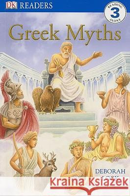 DK Readers L3: Greek Myths Caryn Jenner 9780756640156