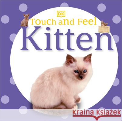 Touch and Feel: Kitten DK Publishing 9780756691653