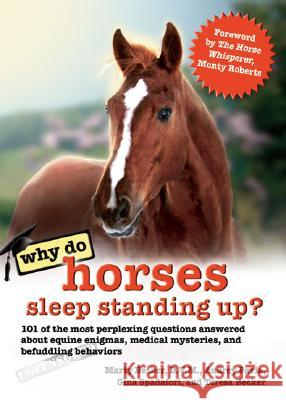 Why Do Horses Sleep Standing Up?: 101 of the Most Perplexing Questions Answered about Equine Enigmas, Medical Mysteries, and Befuddling Behaviors Marty Becker Audrey Pavia Gina Spadafori 9780757306082