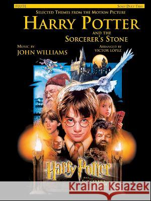 Selected Themes from the Motion Picture Harry Potter and the Sorcerer's Stone (Solo, Duet, Trio): Flute John Williams John Williams Victor Lopez 9780757992308 Alfred Publishing Company