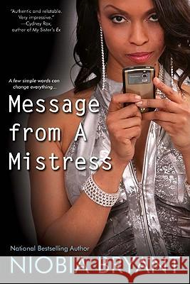 Message from a Mistress Niobia Bryant 9780758238214