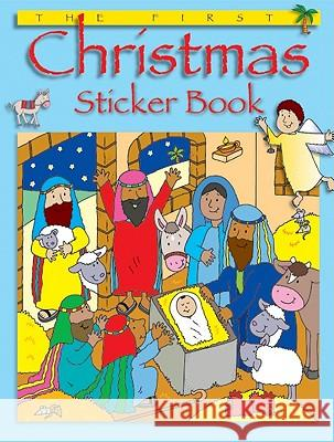 The First Christmas Sticker Book Bethan James 9780758630605