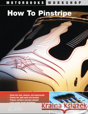 How to Pinstripe Alan Johnson Roger Morrison 9780760327494