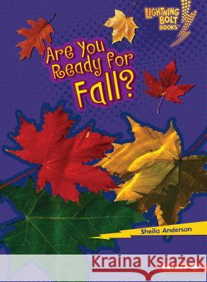 Are You Ready for Fall? Sheila Anderson 9780761356721