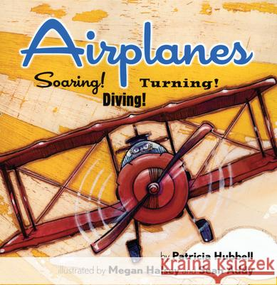 Airplanes: Soaring! Diving! Turning! Patricia Hubbell Megan Halsey 9780761459835