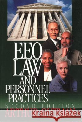 Eeo Law and Personnel Practices Arthur Gutman 9780761918943