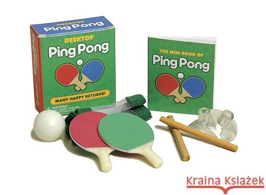 Desktop Ping Pong Chris Stone 9780762439539