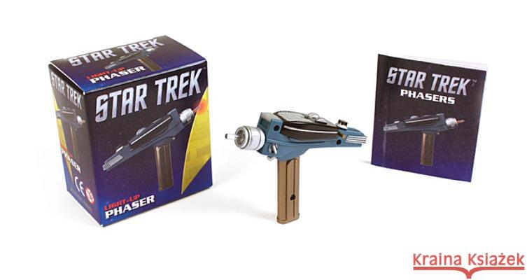Star Trek Light-Up Phaser Running Press  9780762450107 0