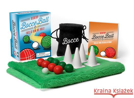Desktop Bocce Ball: This Is How We Roll! Conor Riordan 9780762469444