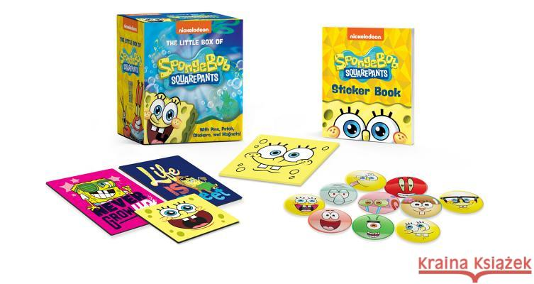 The Little Box of Spongebob Squarepants: With Pins, Patch, Stickers, and Magnets! Running Press 9780762494019