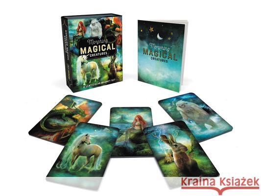 Morphing Magical Creatures: A Lenticular Magnet Set Running Press 9780762496129