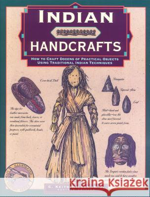Indian Handcrafts C. Keith Wilbur 9780762706617