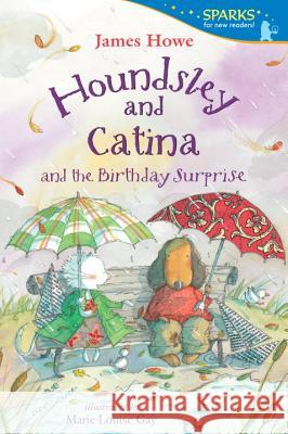 Houndsley and Catina and the Birthday Surprise James Howe Marie-Louise Gay 9780763666392