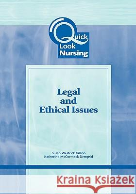 Legal and Ethical Issues Susan W. Killion Westrick 9780763748944