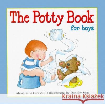 Potty Book for Boys Alyssa Satin Capucilli 9780764152320