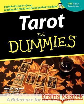 Tarot for Dummies Amber Jayanti 9780764553615