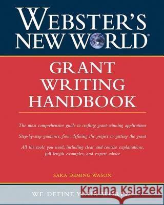 Grant Writing Handbook Sara Deming Wason 9780764559129