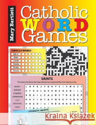 Catholic Word Games Mary Bartlett 9780764814303