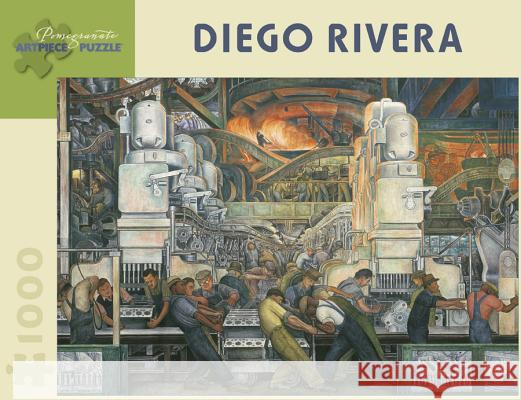 Diego Rivera: Detroit Industry 1,000-Piece Jigsaw Puzzle  9780764942174