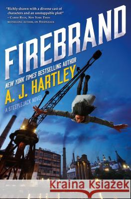Firebrand: Book 2 in the Steeplejack Series A. J. Hartley 9780765388131
