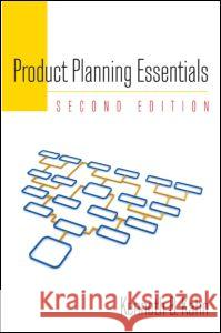Product Planning Essentials Kenneth B. Kahn 9780765626073