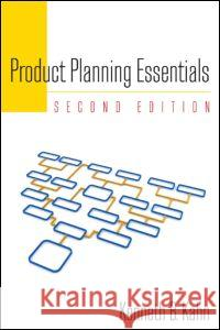 Product Planning Essentials Kenneth B. Kahn 9780765626080