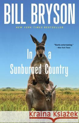 In a Sunburned Country Bill Bryson 9780767903868 Broadway Books