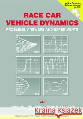 Race Car Vehicle Dynamics : Problems, Answers and Experiments  9780768011272