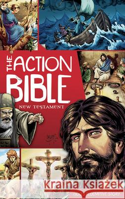 The Action Bible: New Testament: God's Redemptive Story Doug Mauss Sergio Cariello 9780781406086