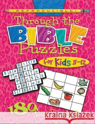 Through the Bible Puzzles for Kids 8-12 Susan Lingo 9780784711712