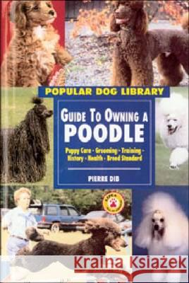 Guide to Owning a Poodle  9780791054741