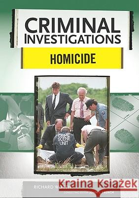 Homicide Richard Worth Richard Worth 9780791094099