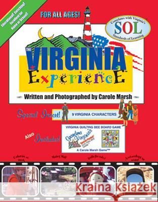 The Virginia Experience Paper Back Book Carole March Carole Marsh 9780793394135