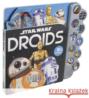 Star Wars: 10-Button Sounds: Droids Brian Houlihan Veronica Wagner Powerstation Studios 9780794443801