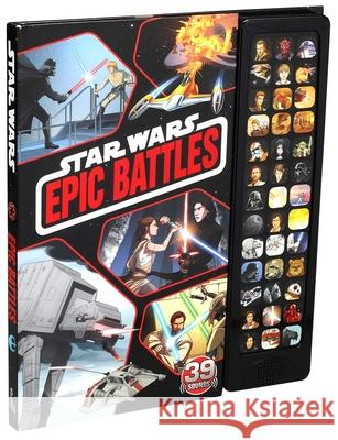 Star Wars: 39-Button Sound: Battles Editors of Studio Fun International 9780794444464