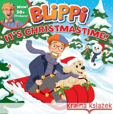 Blippi: It's Christmastime! Editors of Studio Fun International 9780794446857