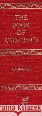 The Book of Concord Theodore G. Tappert 9780800608255