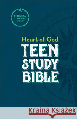 CSB Heart of God Teen Study Bible, Hardcover Mark L. Strauss 9780801016264