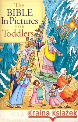 The Bible in Pictures for Toddlers Ella K. Lindvall Roger Langton Kenneth N. Taylor 9780802430588 Moody Publishers