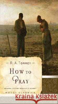 How to Pray R. Torrey 9780802456526
