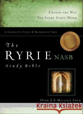 Ryrie Study Bible-NASB Charles C. Ryrie 9780802484574