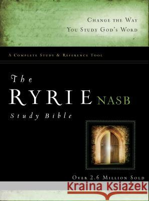 Ryrie Study Bible-NASB Charles C. Ryrie 9780802484703