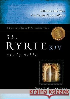 Ryrie Study Bible-KJV [With DVD] Charles Ryrie 9780802489036