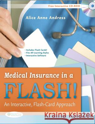 Medical Insurance in a Flash!: An Interactive, Flash-Card Approach Andress 9780803623491