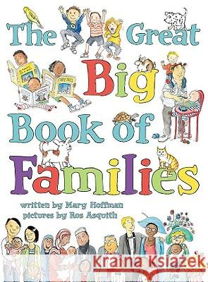 The Great Big Book of Families Mary /. Asquith Hoffman 9780803735163